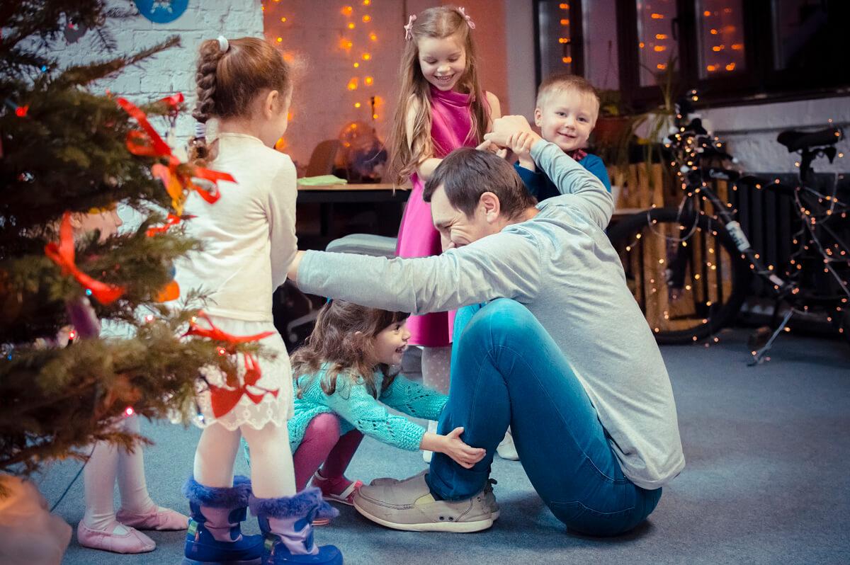 Детский новогодний праздник 2018
