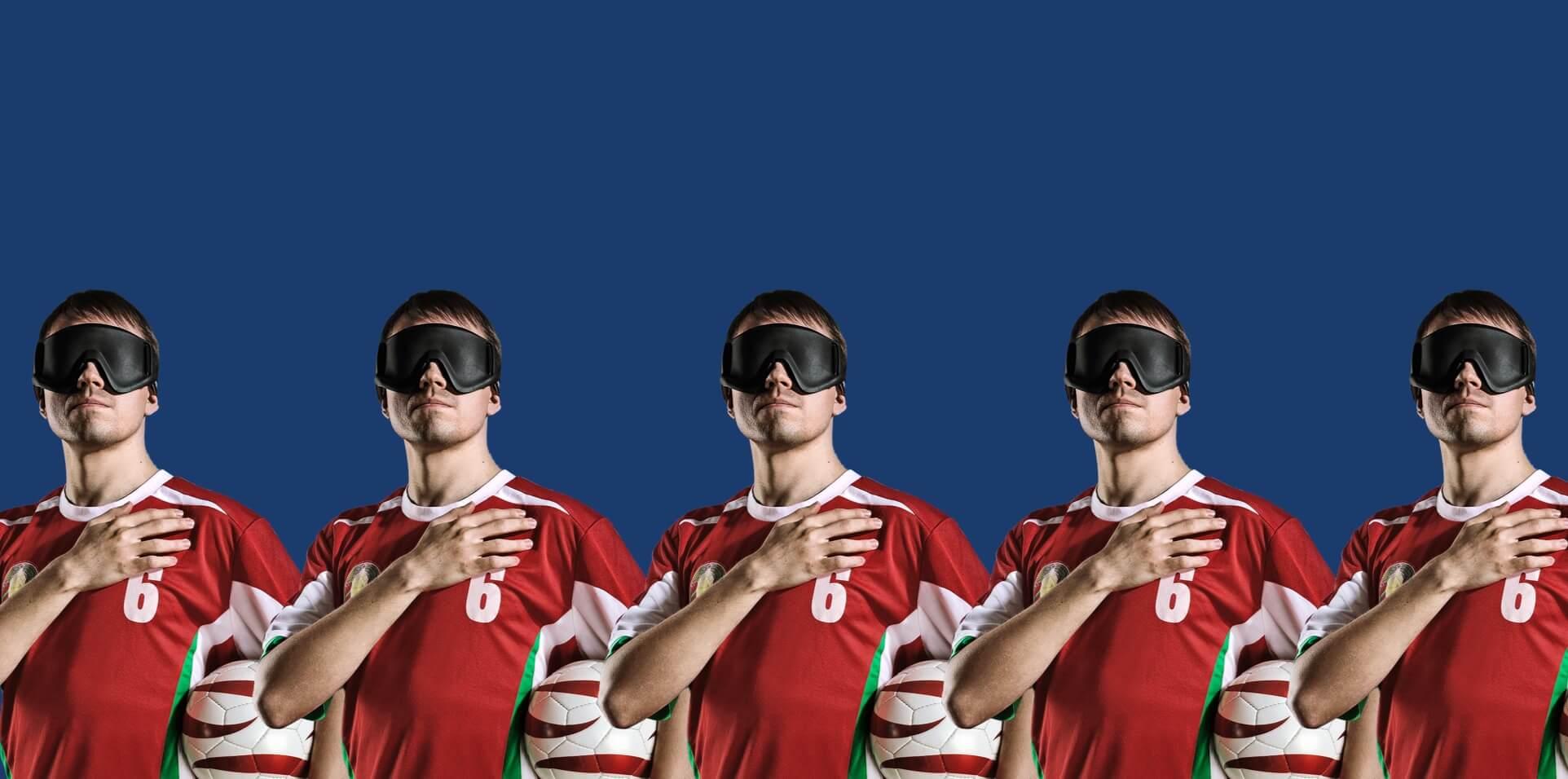 Cайт о турнире по футболу для слепых