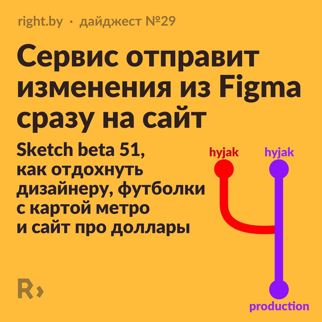 Сервис отправит изменения из Figma сразу на сайт